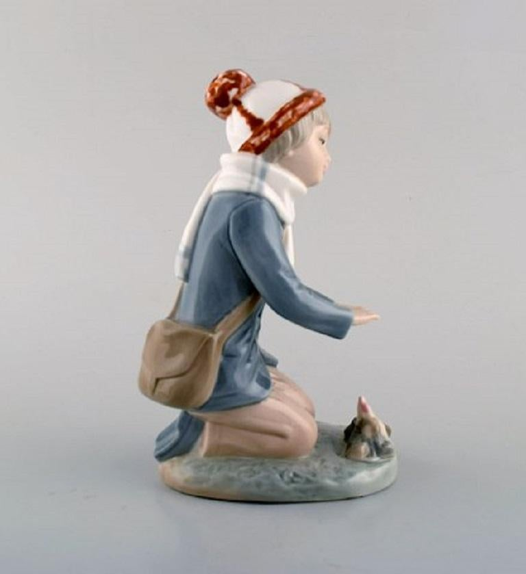 Spanish Lladro, Tengra and Zaphir, Spain, Four Porcelain Figurines of Children For Sale