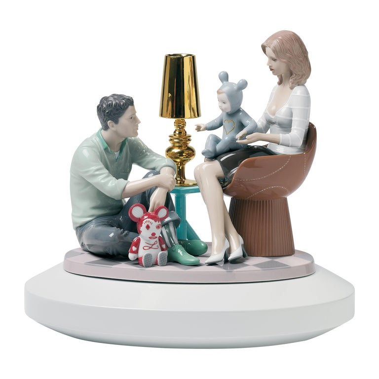 Lladro The Family Portrait Figurine by Jaime Hayon For Sale