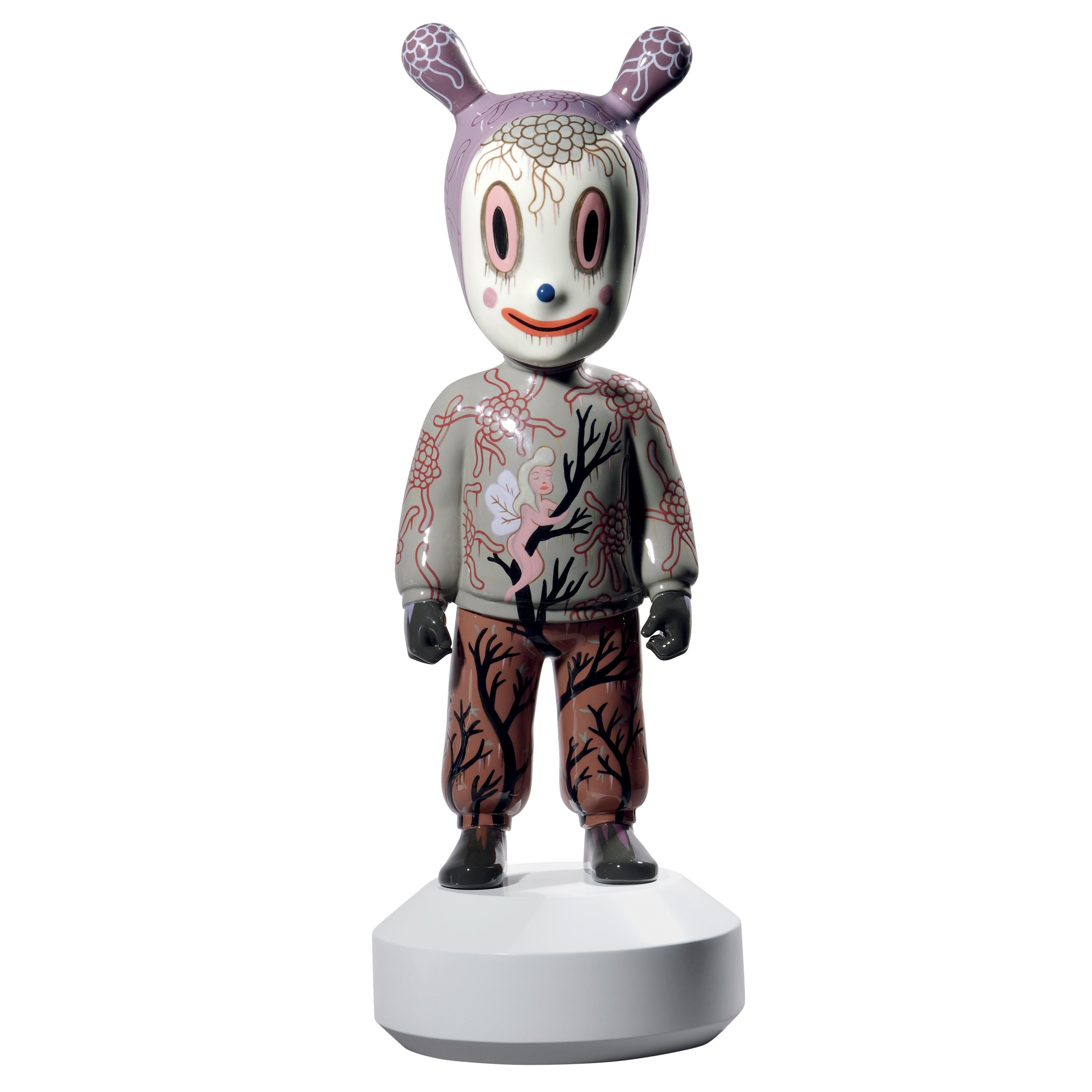 Lladro the Guest Figurine Large Model by Gary Baseman. Limited Edition.