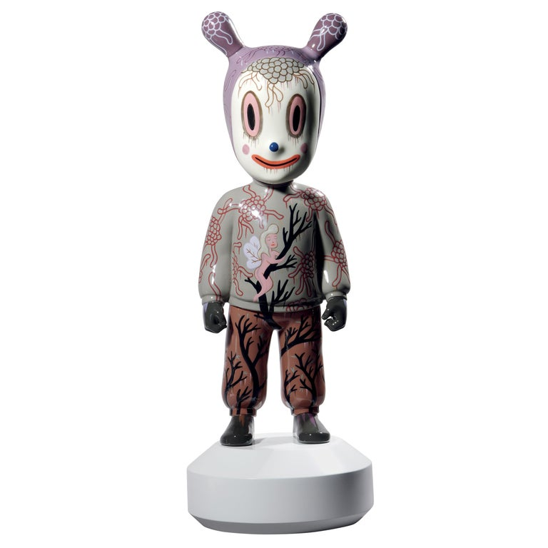 Lladro the Guest Figurine Large Model by Gary Baseman For Sale