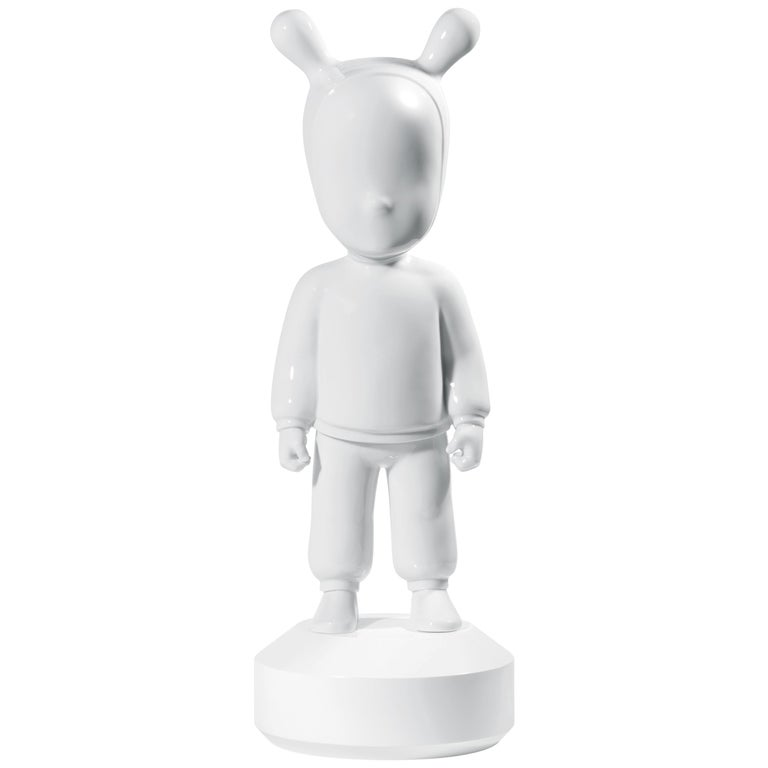For Sale: White Lladro The Guest Figurine Large Model by Jaime Hayon