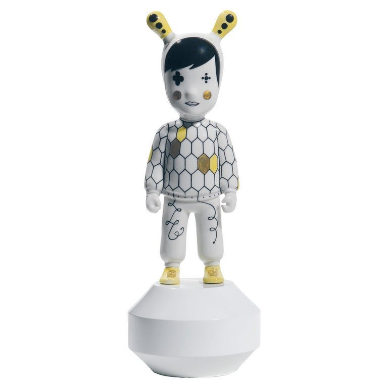 Lladro The Guest Small Figurine by Jaime Hayon, Numbered Edition For Sale