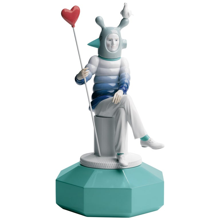 Lladro The Lover I Figurine by Jaime Hayon For Sale