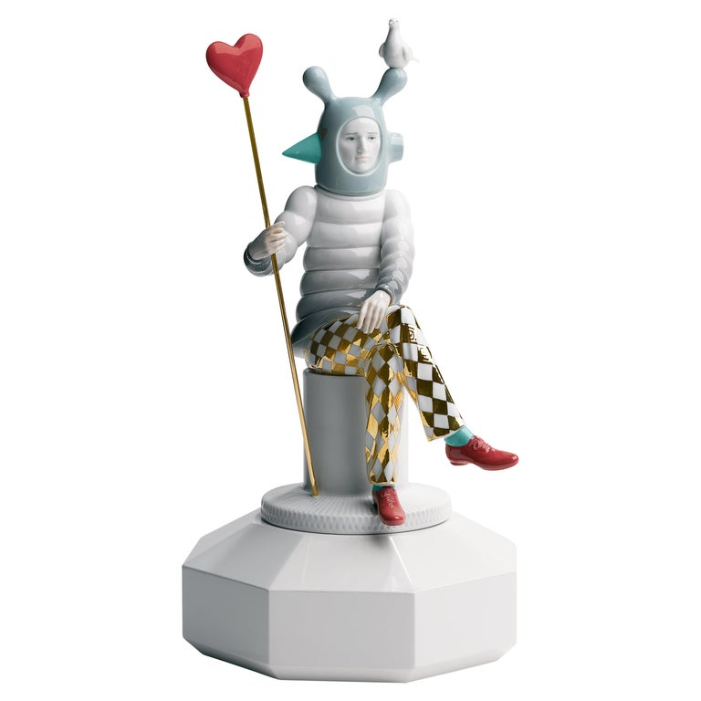 Lladro The Lover II Figurine by Jaime Hayon For Sale