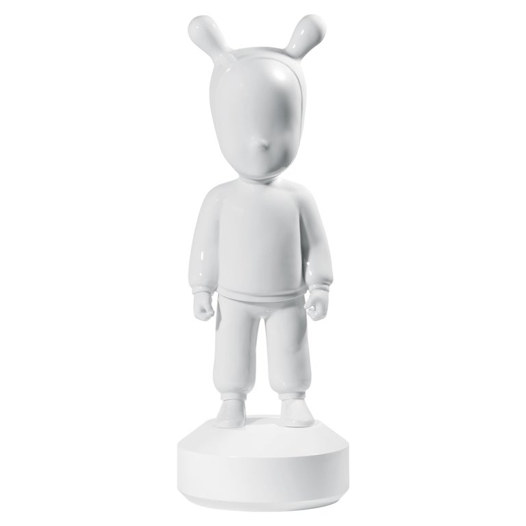 Lladro the White Guest Figurine Large Model in White by Jaime Hayon For Sale