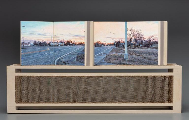 Lloyd Brown Landscape Painting - Kit Carson, Colorado