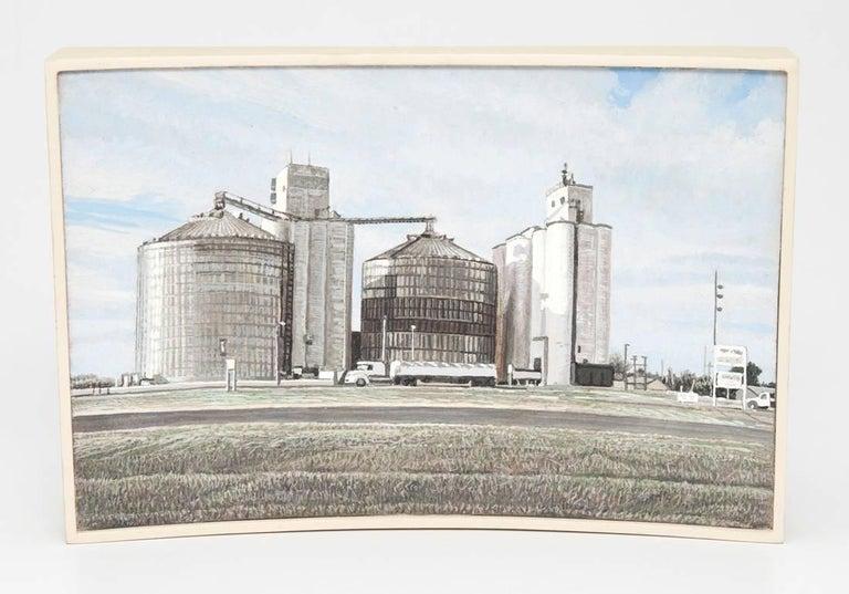 Grain Elevators, Stafford, Kansas