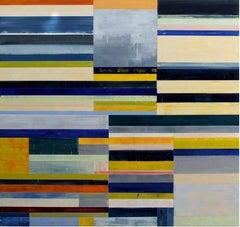 Lloyd Martin, Blue Riff, Oil on Canvas, 2016