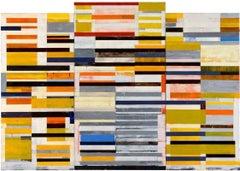 Lloyd Martin, Large Alloy, Oil on Canvas, 2013
