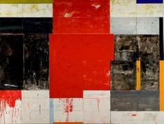 Lloyd Martin, Large Red Stilt, Oil on Canvas, 2010