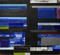 Lloyd Martin, Slow Fold Nocturne, Oil on Canvas, 2016
