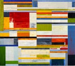 Lloyd Martin, Stratum 2, Oil on Canvas, 2011