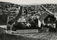 Untitled (San Francisco as seen from Lombard Street with Coit Tower and Telegrap