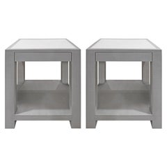 Lobel Originals Pair of Bedside Tables Model 1020 Made to Order