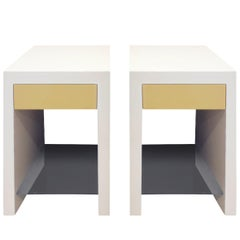 "Lobel Originals Pair of ""Ellie Bedside Tables"""