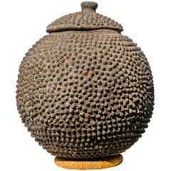 Lobi Terracotta Vessel, African Pottery