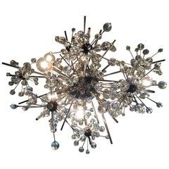 Lobmeyr Metropolitan Opera Crystal Chandelier Sputnik Design