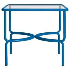 Locus Solus Blue Dining Table by Gae Aulenti