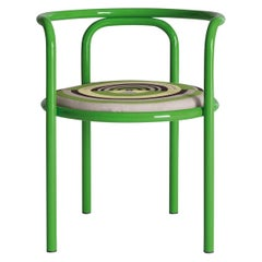 Locus Solus Green Chair by Gae Aulenti