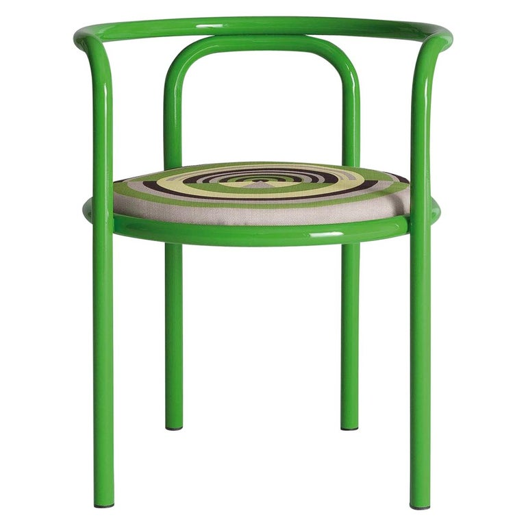 Locus Solus Green Chair by Gae Aulenti For Sale
