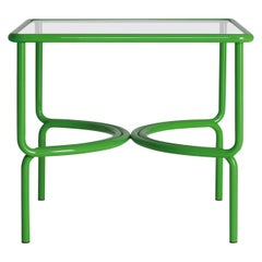 Locus Solus Green Dining Table by Gae Aulenti