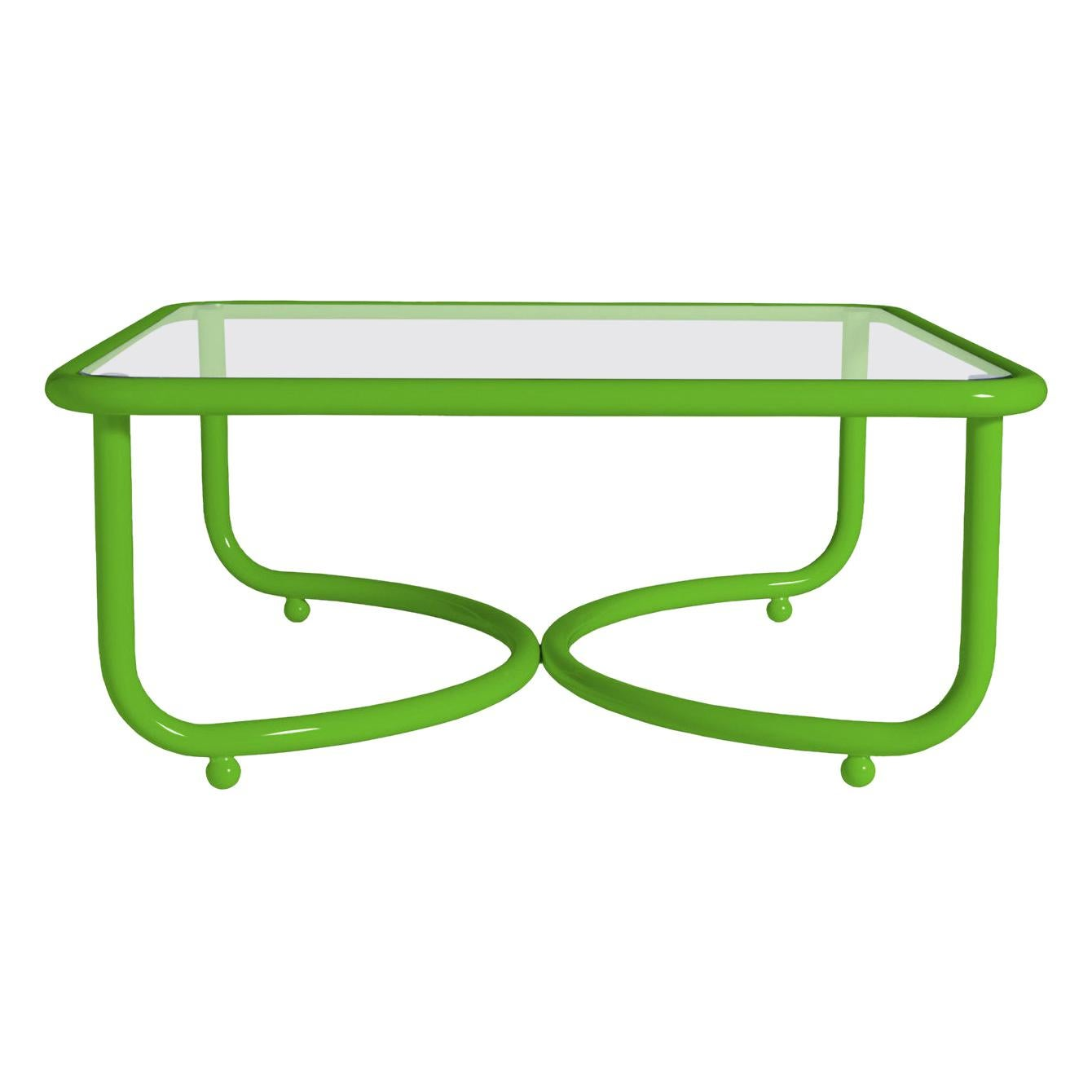 Locus Solus Green Low Table by Gae Aulenti