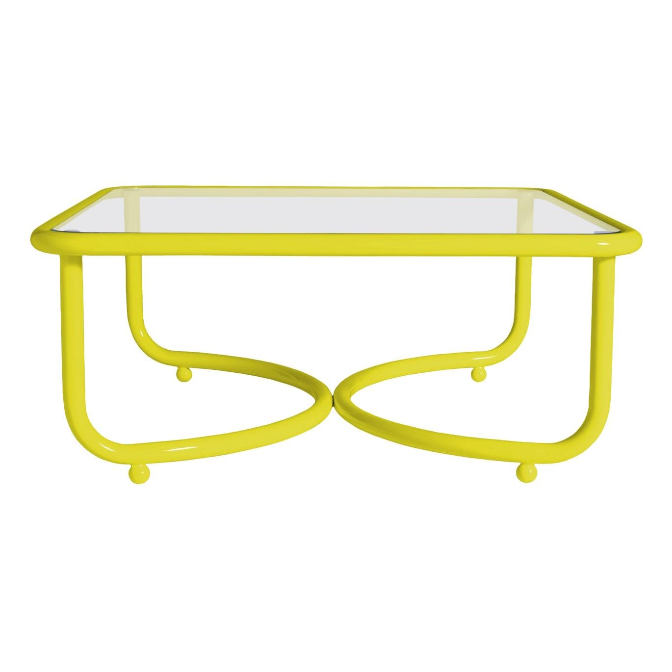 Locus Solus Low Yellow Table by Gae Aulenti