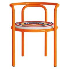 Locus Solus Orange Chair by Gae Aulenti