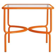 Locus Solus Orange Dining Table by Gae Aulenti