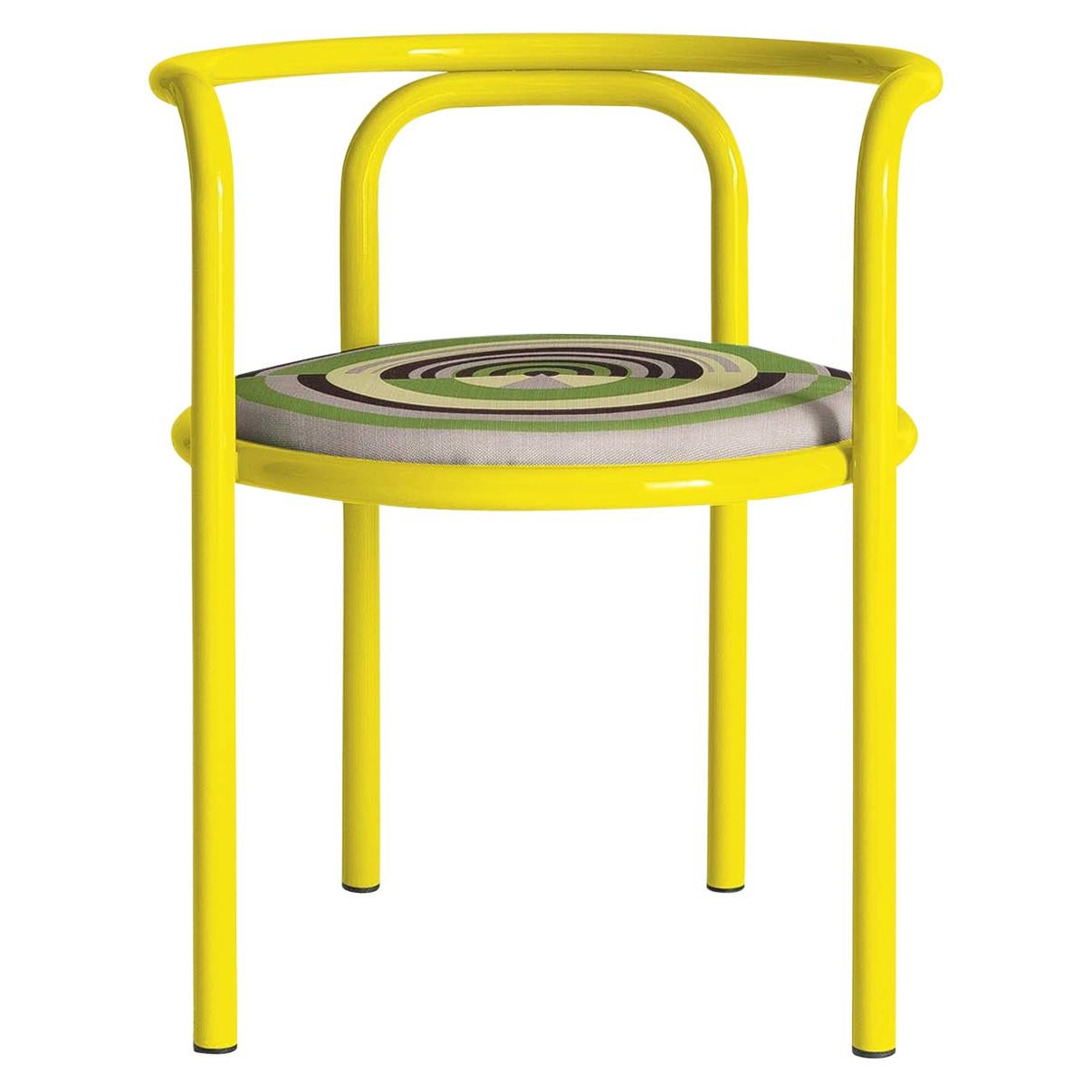 Locus Solus Yellow Chair by Gae Aulenti