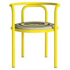 Locus Solus Yellow Chair by Gae Aulenti