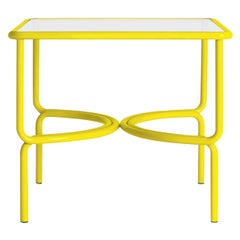 Locus Solus Yellow Dining Table by Gae Aulenti