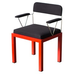 Lodge Ettore Sottsass Bieffeplast Postmodern, 1980s Chair in Stock