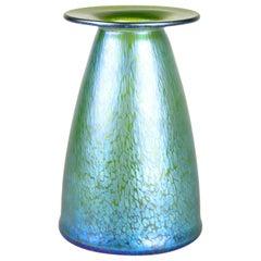 "Loetz Glass Vase ""Crete Papillon"" by Koloman Moser for E. Bakalowits, circa 1899"
