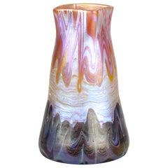 Loetz Glass Vase PG 358 by Hans Hofstoetter for Paris World Expo, Bohemia, 1900