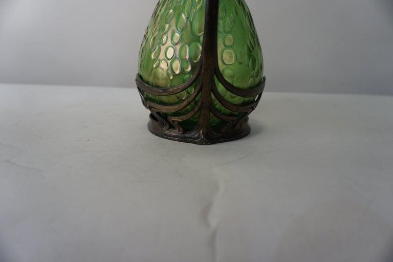 Loetz Style Art Nouveau Glass Vase 1