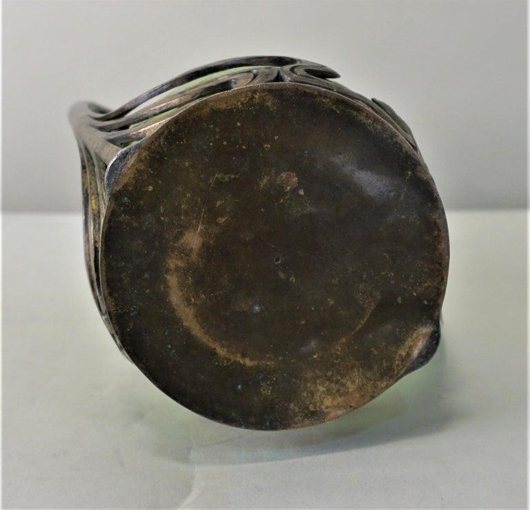 Loetz Style Art Nouveau Glass Vase 3