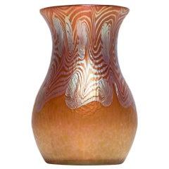 Loetz Vase Phen. Gre. 3/430 Metallrot, circa 1903