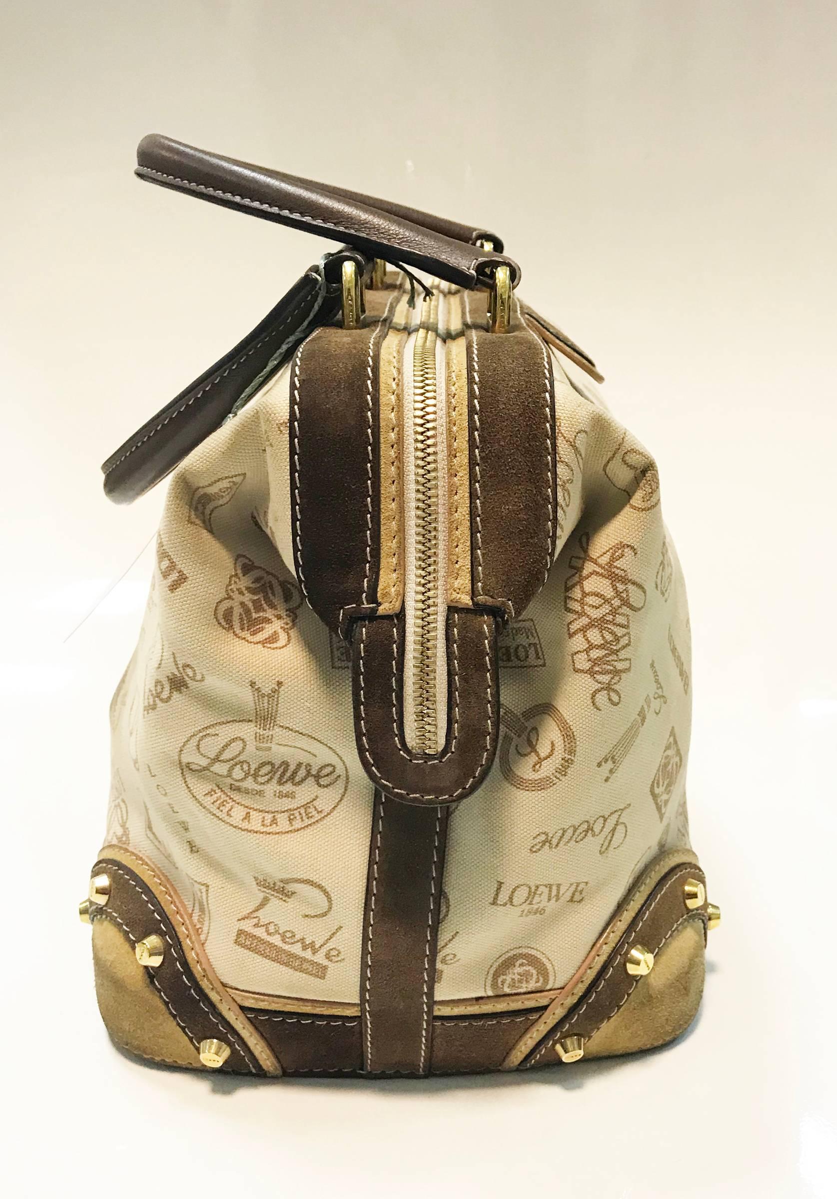 1stdibs Loewe 160 Anniversary Bowling Bag. 2006. Spain qqJ4a6H66P
