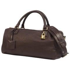 LOEWE 2WAY shoulder Womens handbag dark brown