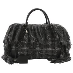 Loewe Amazona Bag Fringe Tweed 45