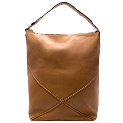 Loewe Brown Leather Oversized Hobo Bag