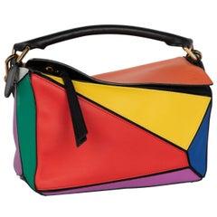Loewe Color Block Puzzle Bag, 2017