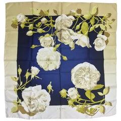 Loewe Madrid Rose Garden Silk Twill Scarf 34 x 34