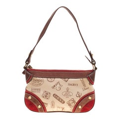 Loewe Multicolor Canvas and Suede Leather 160th Anniversary Shoulder Bag