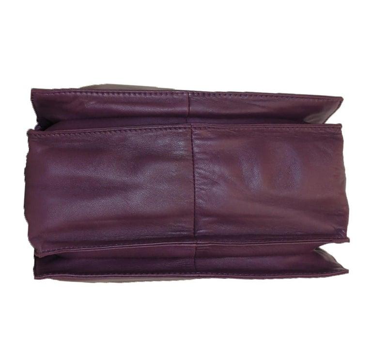 Women's Loewe Purple Flamenco Tassel Bag For Sale