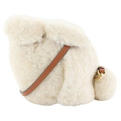 Loewe Rabbit Crossbody Bag Shearling Min
