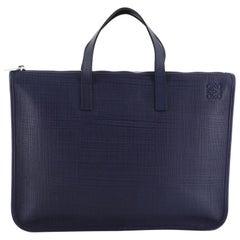 Loewe Toledo Briefcase Leather Large