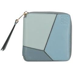 Loewe Woman Wallet Blue