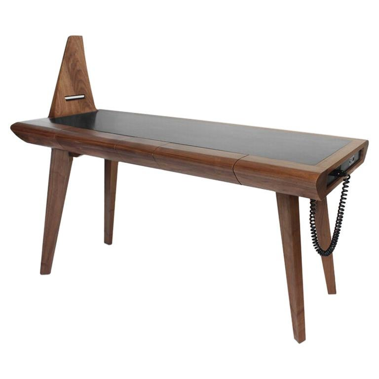 Loewy Walnut Work Table